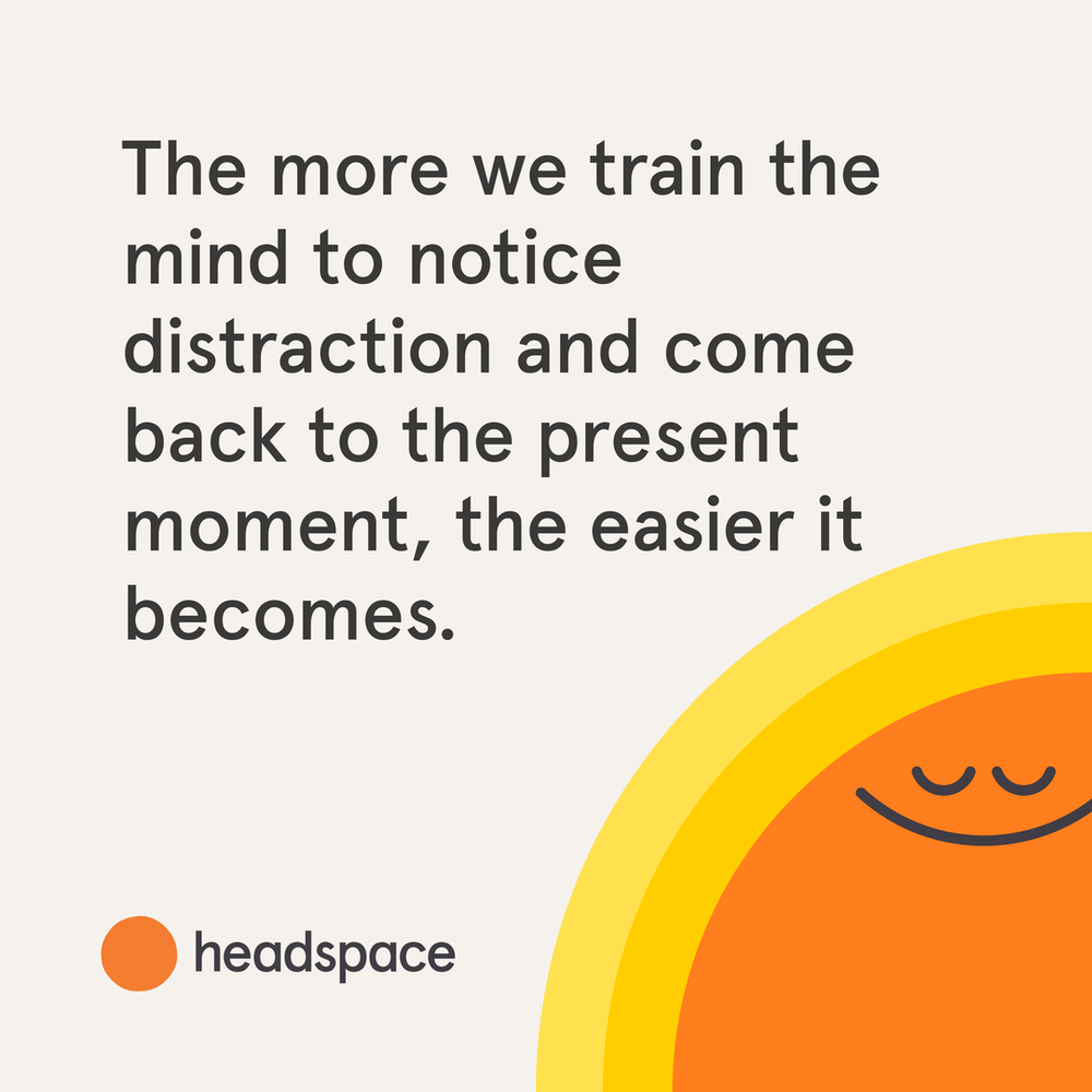 Start With a Good Headspace